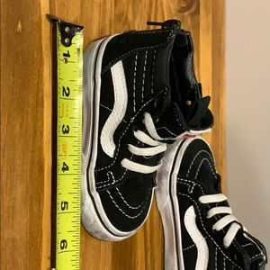 Vans Shoes - Vans Off The Wall High Top Skate Shoes - Toddler